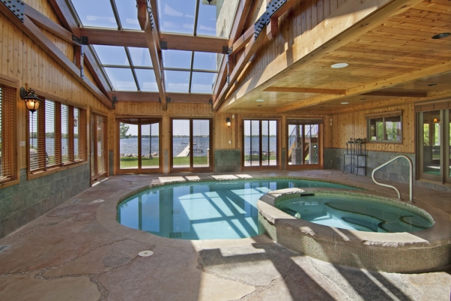 22620 Hayward Ave N, Forest Lake MN | MLS # 4153421 | Pool Looking out to Lake