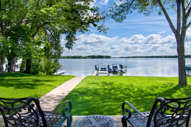1650 Shadywood Road, Orono MN | MLS # 4152837 | Dock from the Patio