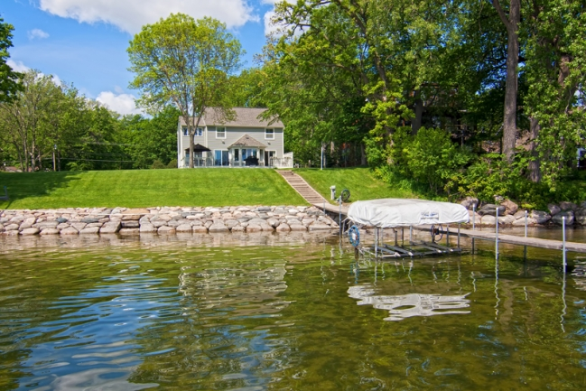 1650 Shadywood Road, Orono MN | MLS # 4152837 | Home from Dock